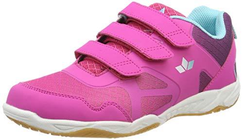 Lico Hot Indoor V Mädchen Multisport Indoor Schuhe, Pink/ Lila/ Türkis, 36 EU