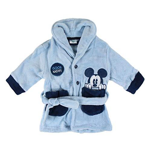 Artesania Cerda Batín Coral Mickey Bebé-Niños, Azul (Azul C37), 24m para Bebés