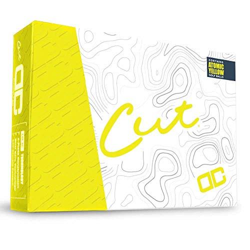 CUT DC Golf Balls Atomic Yellow (CUTDC-YELLOW)