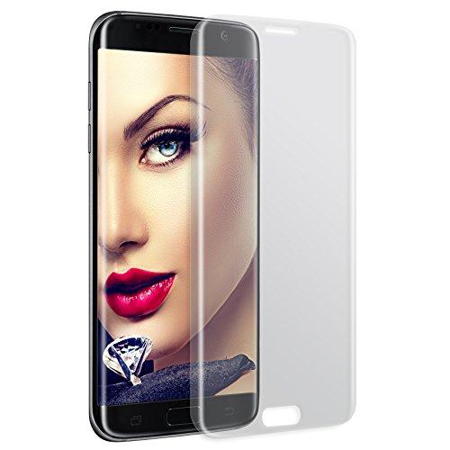 mtb more energy® 3D Proteggi Schermo Curvo in Vetro temperato per Samsung Galaxy S6 Edge+ Plus (SM-G928, 5.7'') - Copertura Completa Bordi arrotondati