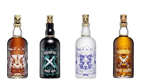 Black Forest Wild Spirits Gin, Vodka, Whisky, Rum 4x 0.5l aus Gengenbach im Schwarzwald