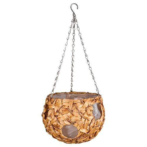 Smart Garden faux rattan ball 9' - 23cm. Hanging Basket. Rot Proof, low maintenance.