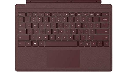Microsoft Surface Pro Signature Type Cover Eng Intl Euro Hdwr Commercial BURGUNDY (FFQ-00047)