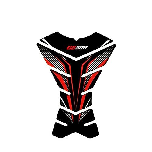 Protector DE Tanque Moto Estuche De Pegatinas De Calcomanías Protectoras De Almohadilla De Tanque De Motocicleta con Apariencia De Carbono 3D para GS500 (Color : 9)
