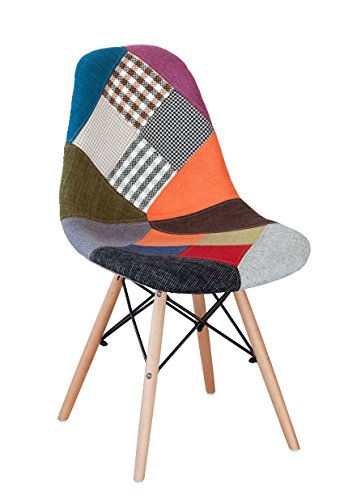 Vivace Boston – Chaise, 48 x 46 x 84 cm, Multicolore
