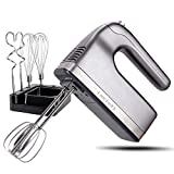 DmofwHi 9-Speed Hand Mixer Electric with Timer and Digital Screen(400W), Kitchen Handheld Mixer