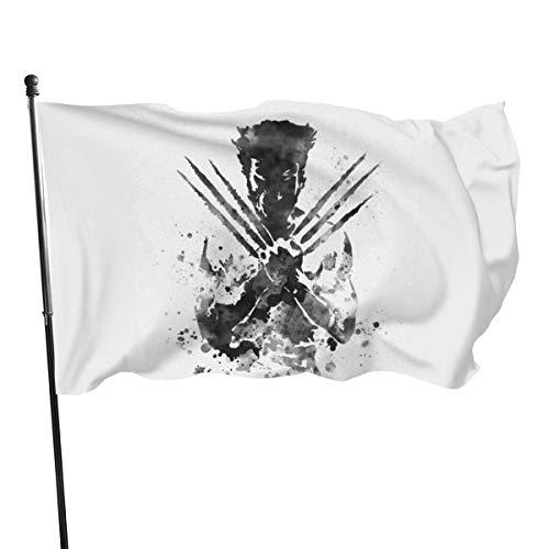 N/ Wolverine Kunstdruck Flagge Banner Flaggen, 91 x 152 cm