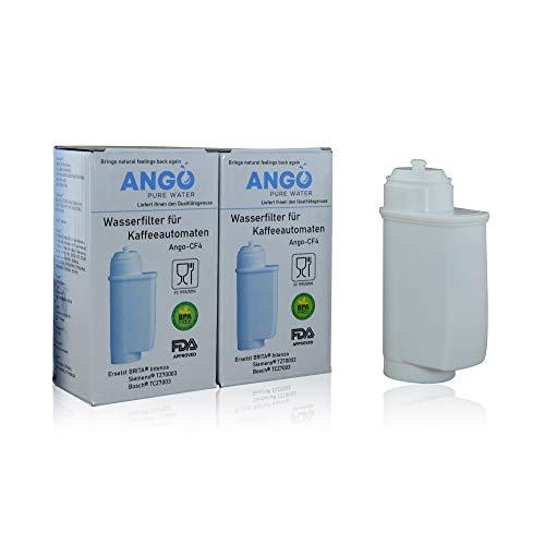 2 x wkłady filtrujące do wody zastępują TZ70003/TCZ7003/Brita Intenza Filter, kompatybilne z ekspresami do kawy Siemens EQ3 EQ5 EQ6 EQ7 EQ8 EQ9 i Bosch Vera