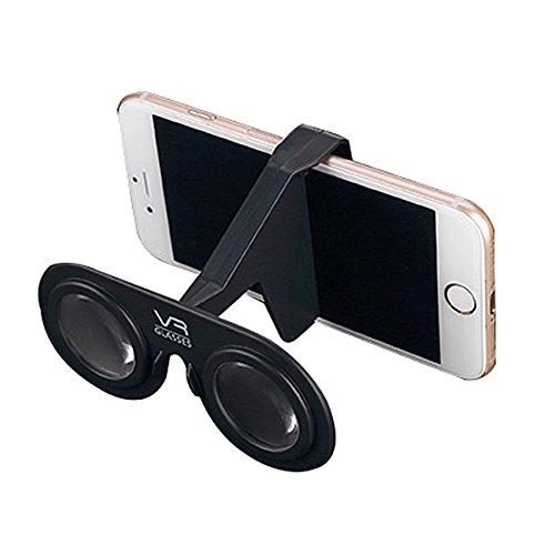 YideaHome 3Dメガネ樹脂レンズ スマホ用 折り畳み 3DVRゴーグル ポケットサイズ 軽量 仮想現実感 バーチャル リアリティビデオ 映画 ゲーム スマートフォン対応 VRグラス スマホ対応