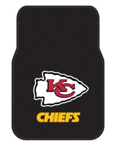 The Northwest Company Officially Licensed NFL Kansas City Chiefs Auto Front Floor Mat, 2-Pack