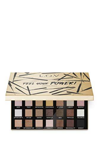 L.O.V - Lidschattenpalette - FEEL YOUR POWER! eyeshadow palette