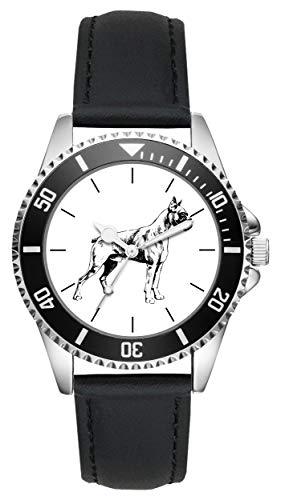 Geschenk für Deutscher Boxer Hund Uhr L-6126