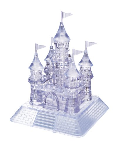 Crystal Puzzle - 6191002 - Puzzle 3D - Château - Transparent
