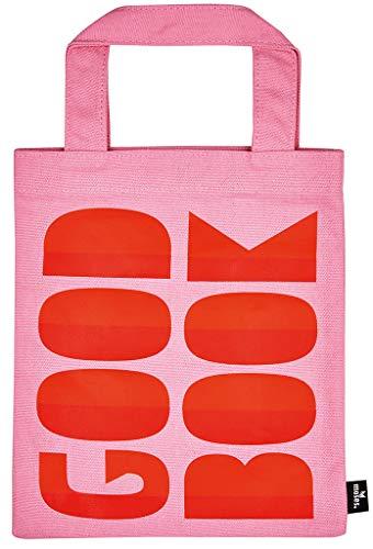 Moses libri_x boekentas Good Book | draagtas van 100% katoen | voor boekenliefhebbers sporttas, 24 cm, roze