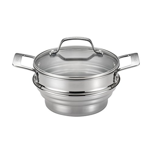 Circulon Stainless Steel Universal Steamer with Lid, Medium - 70135