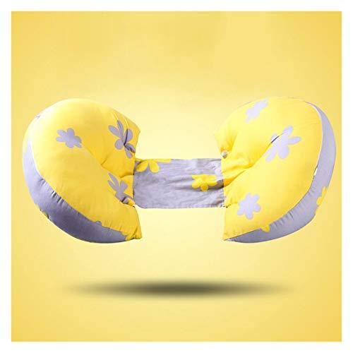 Nieuwe Multi-functie zwangere vrouwen Pillow U Type Belly Ondersteuning Side Sleepers Pillow Zwangerschap Pillow Bescherm Taille Sleep Pillow (Color : Yellow)