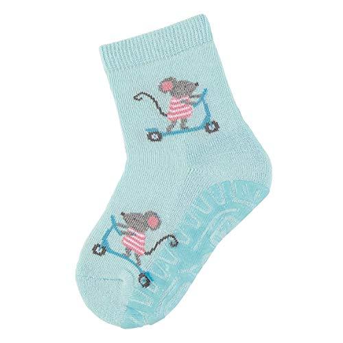 Sterntaler - meisjes sokken tegels Flitzer Air muizen, turquoise - 8032016