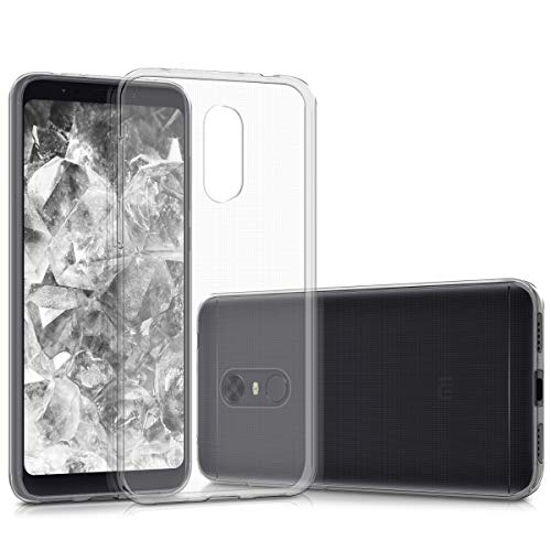 kwmobile Hülle kompatibel mit Xiaomi Redmi 5 Plus/Redmi Note 5 (China) - Handyhülle - Handy Case in Transparent