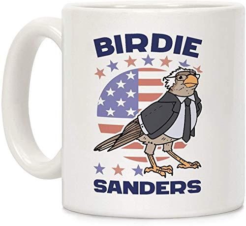 Koffie mok, Thee Beker, Birdie Sanders Wit 11 Ounce Keramische Koffiemok