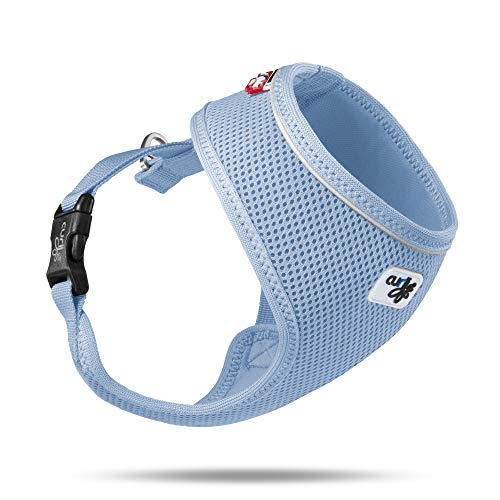 Curli Basic Geschirr Air-Mesh, Skyblue