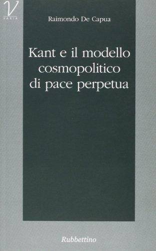 Kant e il modello cosmopolitico di pace perpetua