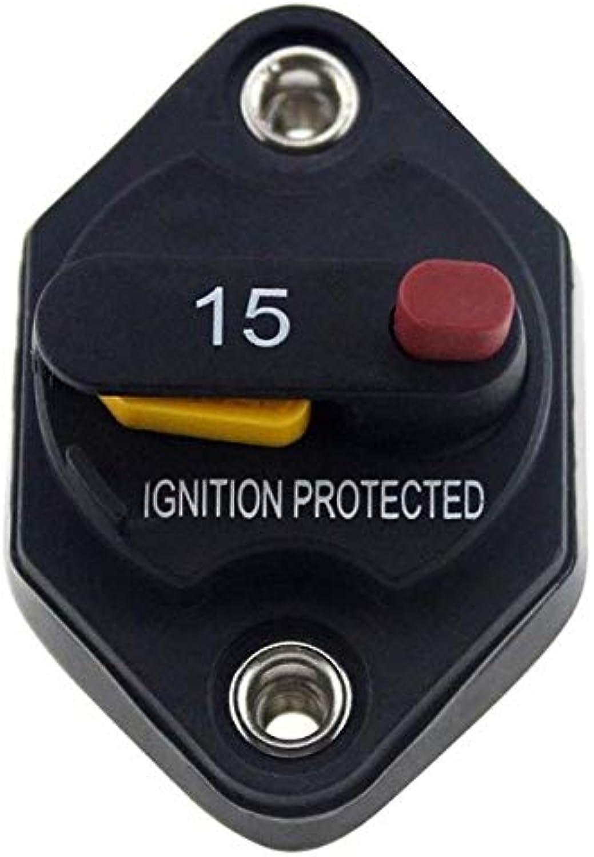 SalaStore  Car Truck Marine RV Manual Reset Circuit Breaker IP67 Waterproof DC 32V Fuse 10A 15A 20A 30A 40A 50A Car Auto Fuses