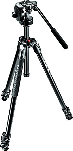 Manfrotto 290 Xtra Aluminum 3-Section Tripod Kit