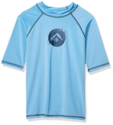 Haywire Red Kanu Surf Boys Big UPF 50+ Sun Protective Rashguard Swim Shirt 6 X-Small