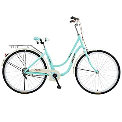 """Women's 3-Speed Beach Cruiser Bicycle, 26"""" Wheels, Mint Green with Black Seat and Grips-?U.S. Shipping?"""