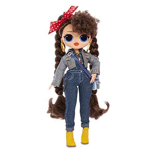 L.O.L. Surprise! 565116E7C O.M.G. Busy B.B. Fashion Doll with 20 Surprises, Multi