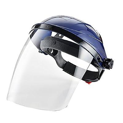La pantalla puede bloquear con eficacia las salpicaduras de aceite en la cocina y las altas temperaturas. Las lentes de policarbonato son a prueba de balas y resistentes a los impactos. Protección frontal y lateral. Protección 180°. Cinta ajustable. ...