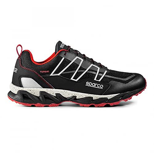 Sparco 00128940NRRS, Zapatillas para Correr de Diferentes Deportes Unisex Adulto, Articulo, 40...