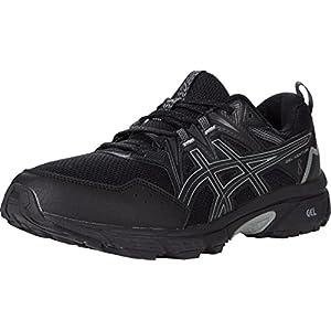 ASICS Men's Gel-Venture 8 Running Shoes Black/White 10 M
