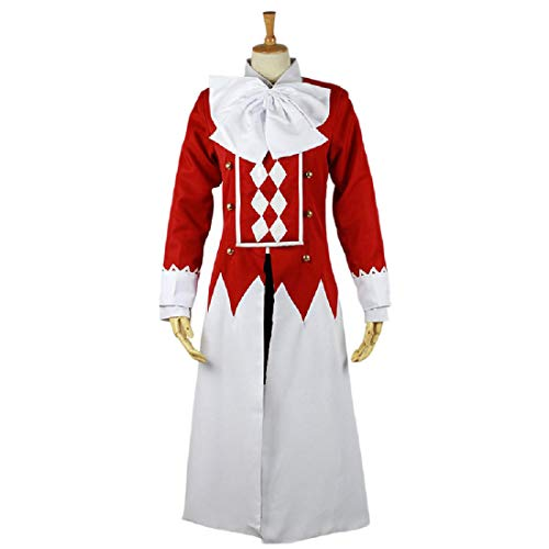 YYFS Anime Cosplay Disfraz de Halloween Carnival Party Uniform, Juego Comic Cosplay Coat, Camisa, Falda,Clothing Suit-X-Large