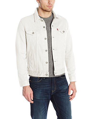 Levi's Men's Trucker Jacket Outerwear, -steel hour, L