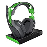 Astro Gaming A50 - Auriculares (con Micrófono Inalámbricos y Estación Base con Sonido Envolvente Dolby 7.1, Compatibles con Xbox One, Pc, Mac) Gris/Verde (Reacondicionado)