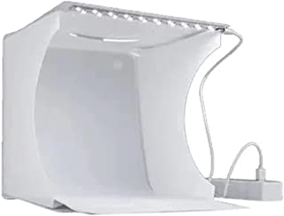 Portable Mini Folding Studio Photography LED Softbox 20x20centimeter White
