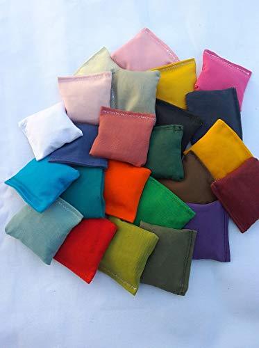EmbroideryByZevotek Mini Cornhole Bags 3 inches