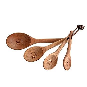 Best wood measuring spoons Reviews