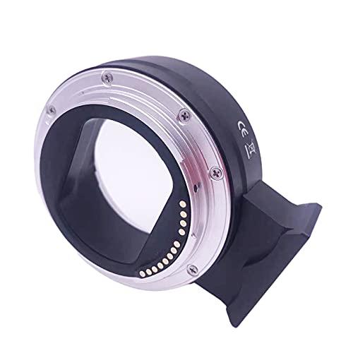 MERIGLARE Adaptador de Lente de Enfoque automático EF-EOS R para Lente Canon EF/EF-S, Accesorios Profesionales