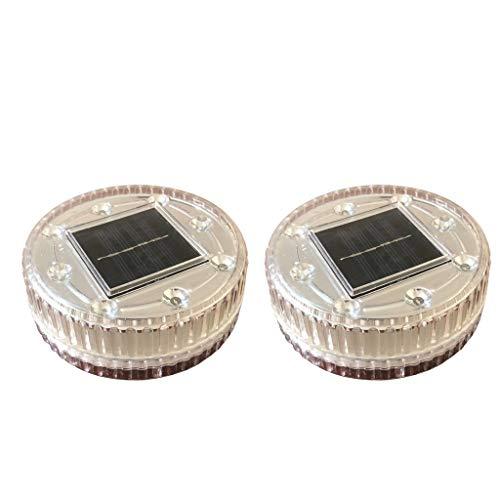 Homyl Veilleuses De Flottement Solaires De LED RVB Imperméables pour Le Vert De Piscine + Rouge