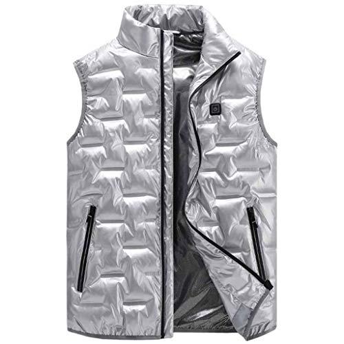 RHSMP verwarmd wintervest lichte verwarmde kleding met USB-lading verstelbaar wasbaar voor motorfiets skiën jacht