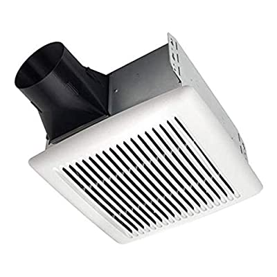 Broan-NuTone AE80 3537297 Invent Energy Star Qualified Single-Speed Ventilation Fan, 80 CFM 0.8 Sones, White by Broan-NuTone