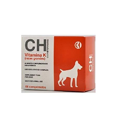 Vitamina K para Perros de Razas Grandes - 60 Comprimidos