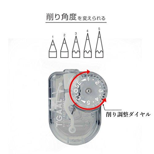 クツワ『透明鉛筆削りトガール(RS028CL)』