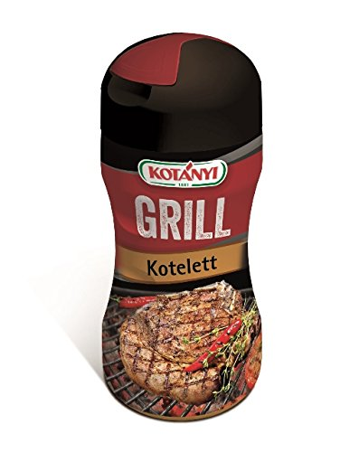 Kotanyi Grill Kotelett Gewürzmischung | herrlich-pikantes Aroma, mit innovativer Palmfett-Ummantelung, 80g