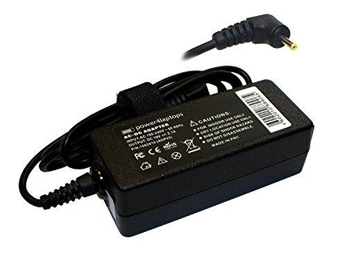 Power4Laptops Netzteil Laptop Ladegerät kompatibel mit Asus Eee PC 1018P-BLK089S