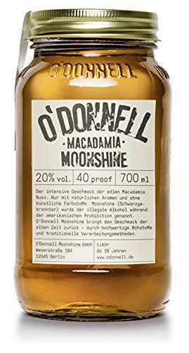 O'Donnell Moonshine MACADAMIA Likör 20% Volume 0,7l Liköre
