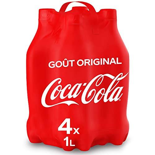 Coca-Cola Goût Original 4x1L bou...