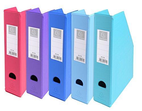 Exacompta 90170e–Pack de 10porte-revues, multicolore